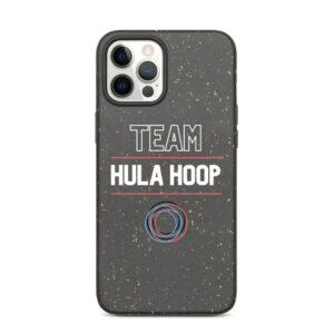 """Biologisch abbaubare Apple iPhone Hülle """"Team Hula Hoop"""""""