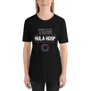 "Kurzarm Hula Hoop Unisex-T-Shirt ""Team Hula Hoop"""