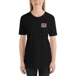 "Kurzarm Hula Hoop Unisex-T-Shirt ""Queen of Hula Hoop"""