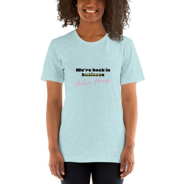 Stylisches Hula Hoop Spruch T-Shirt Kleidung