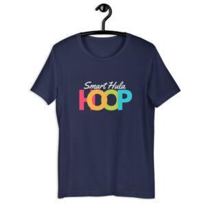 "Kurzarm Hula Hoop Unisex-T-Shirt ""Smart Hula HOOP"""