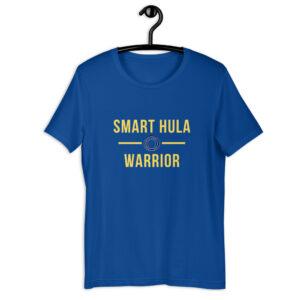"""Kurzarm Hula Hoop Sprüche T-Shirt """"Smart Hula Warrior"""""""