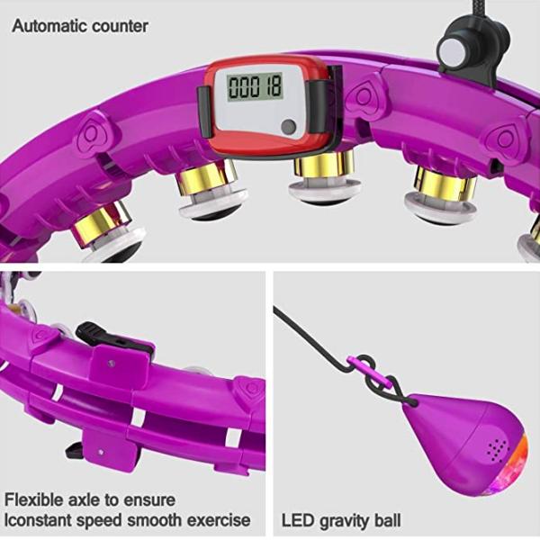 LED Smart Hula Hoop mit Rundenzähler Testsieger